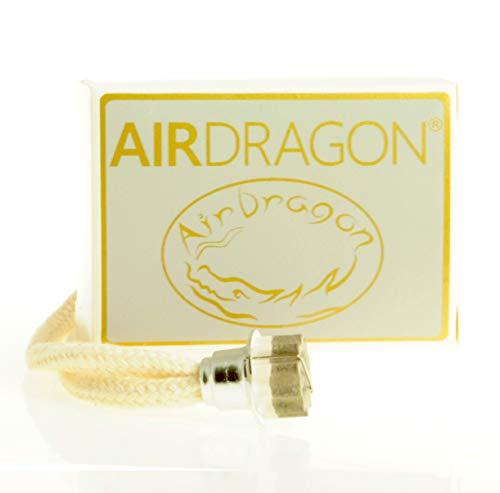 AIRDRAGON® - katalytischer Ersatz Docht mit Brenner KLEIN - für Jede kleine katalytische Lampe (z.B. Lampe Berger, Millefiori, Ashleigh&Burwood, etc.)