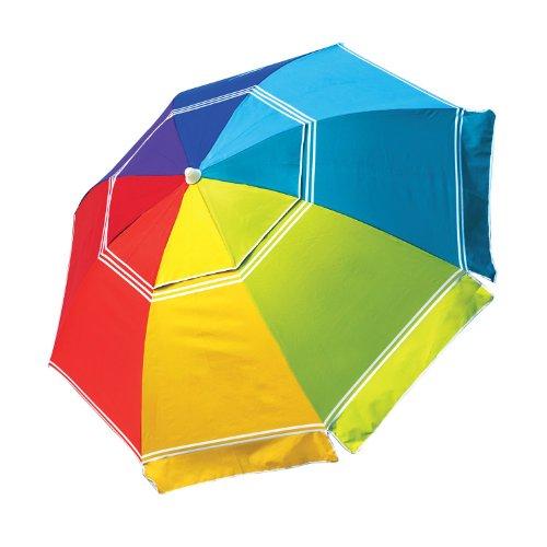 Nautica Rainbow-Colored Beach Umbrella