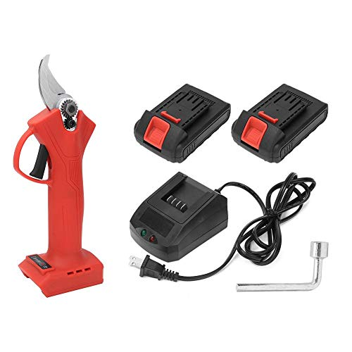 Review Of Electric Secateurs, Pruning Shears, 21V Rechargeable Fruit Tree Scissors Lightweight Pruni...