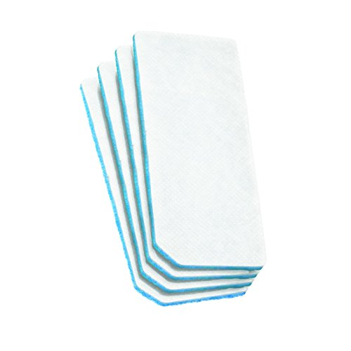 Miele 9724050 RX-SAC-1 Air Clean-Filter, für Miele Saugroboter, 4 Stück