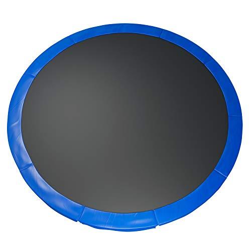 Fast-Jump - Cuscino di protezione delle molle per trampolino, 366 cm, in PVC, colore: Azzurro cielo