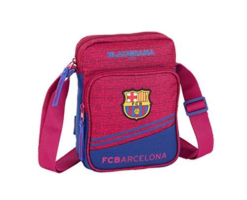 FC Barcelona Corporativa Oficial Bandolera Con Bolsillo Exterior 160x60x220mm