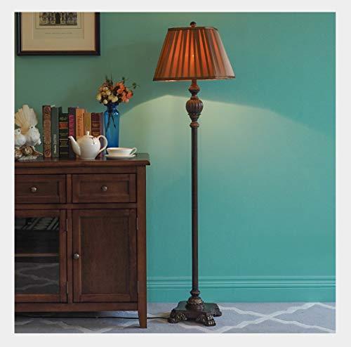 Vloerlamp staande lamp slaapkamer luxe retro studie woonkamer verticale staande lamp LED