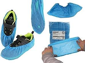 200 Premium Bleu jetable Couvre chaussures Couvre-chaussure 3.5 g-En relief