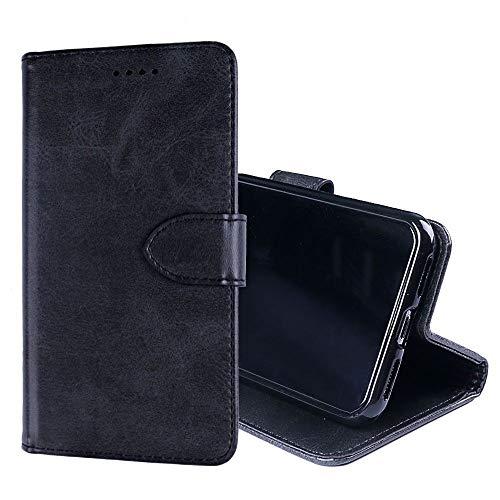 NEKOYA HomTom HT50 Hülle,HomTom HT50 Lederhülle,Handyhülle im Brieftasche-Stil für HomTom HT50. Schutzhülle mit [Minimalistisches][Standfunktion][Kartenfach][Magnetverschluss]