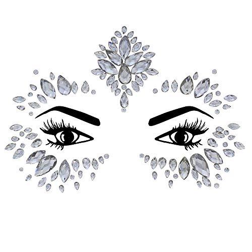 Zac's Alter Ego Pierres de cristal pour le visage – Festival d'été Body Art Licorne Sirène Bindi Rave Bohème Fête