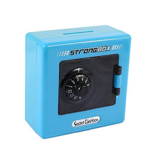 Lock Money Box Aufbewahrungsbox Code Safe Box ABS Kind