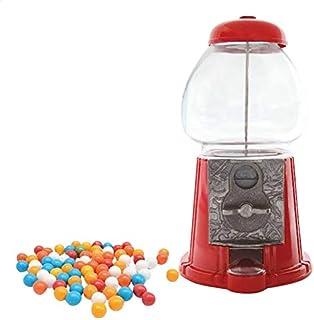 Scrapcooking 0600 Distributeur de Bonbons Vintage Candy, Verre, multicolore, H 28 cm