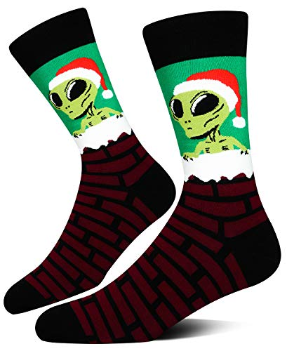 Men's Novelty Christmas Crew Socks