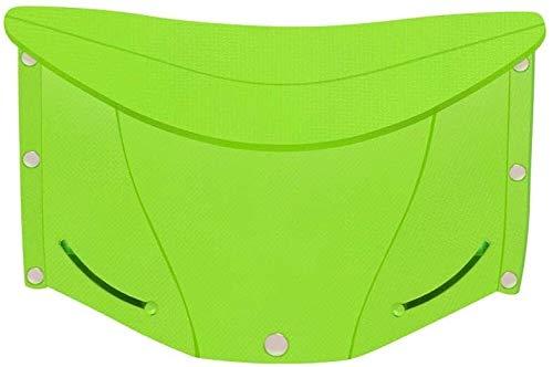 N\A Sillas Plegables Silla de jardín Resistente a la Intemperie de plástico Resistente Oficina de Estar Plegable (Color : -, Size : -)