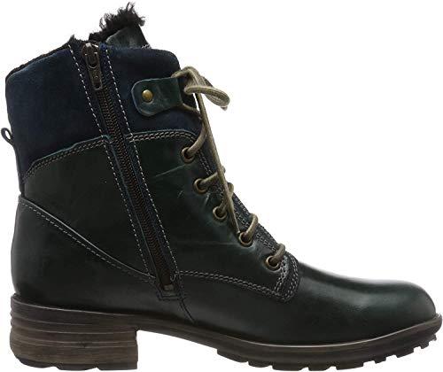 Josef Seibel Damen Sandra 83 Combat Boots, Blau (Aqua Pl88 590), 40 EU