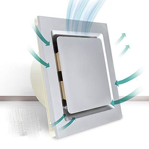 Release Ventilador de Escape de Cocina Ventilador de Techo Integrado Ventilador de Escape de baño Potente Ventilador de Escape silencioso 30 * 30 MM (Color : C)