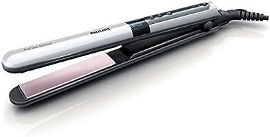 Prostownica Philips ProCare Keratin - Temperatura działania do 230°C - Wibrujące płytki - Wskaźnik gotowości pracy -...