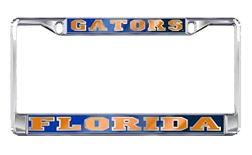 Craftique University of Florida Gators License Plate Frame Silver