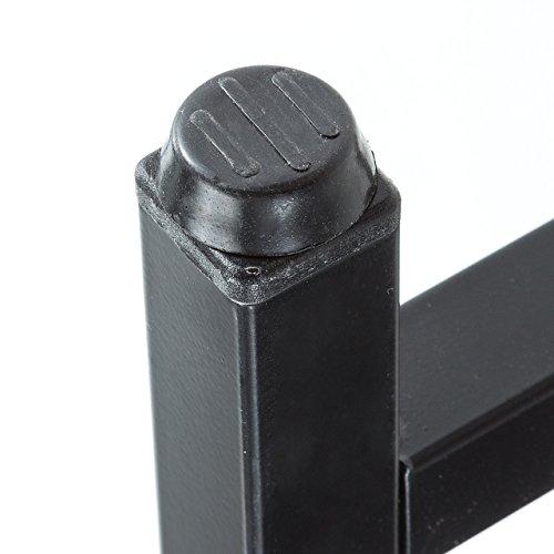 サンワダイレクトパソコンデスク収納ラック付幅100cm木製左右入れ替え対応PCデスクブラック100-DESKH021BK