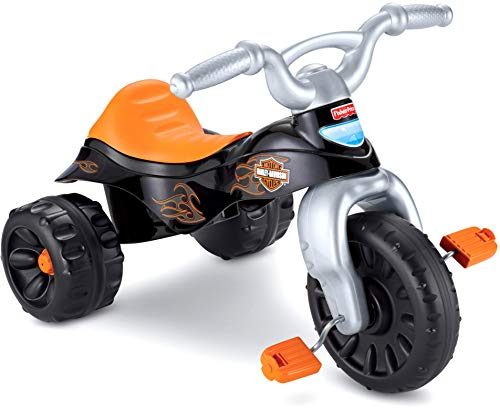FisherPrice HarleyDavidson Tough Trike Amazon Exclusive  Black