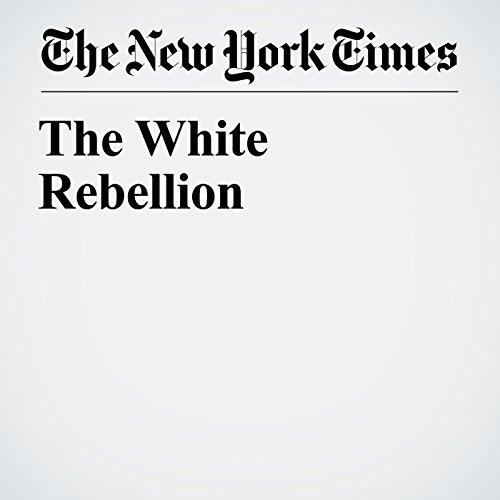 The White Rebellion copertina