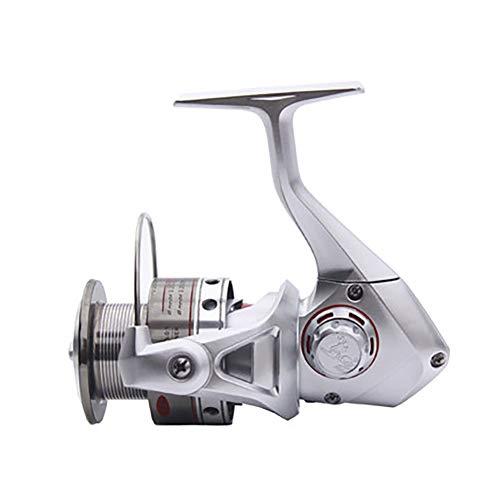 Vissen reel reel, volledig metalen draad beker rocker zee hengel reel vissen reel wheel,White