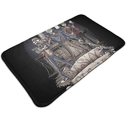 HUTTGIGH Ashy Slashy Ash Vs Evil Dead - Felpudo antideslizante para entrada de baño, cocina, alfombra de 19,5 x 31,5 pulgadas