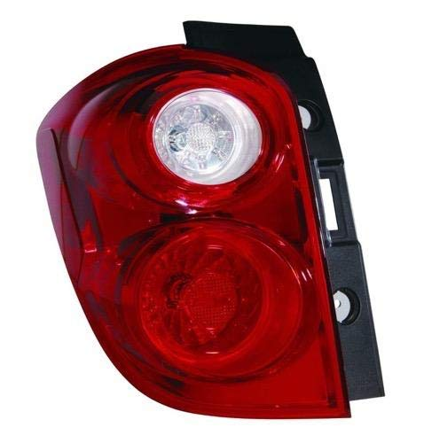 Go-Parts - for 2010 - 2015 Chevrolet Equinox Rear Tail Light Lamp Assembly / Lens / Cover - Left (Driver) Side 23267748 GM2800242 Replacement 2011 2012 2013 2014