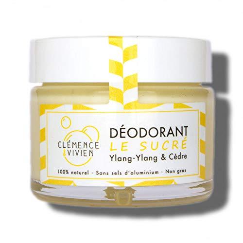 Clémence & Vivien Déodorant Crème Sucré 50 g