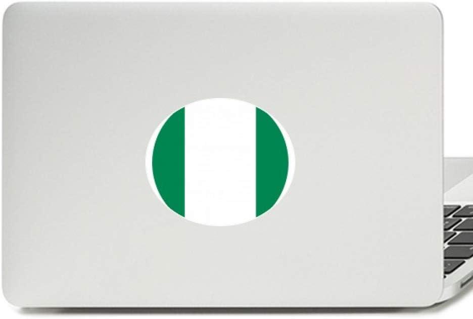 Nigeria Africa National Emblem Vinyl Emblem Graphic Laptop Sticker Notebook Decal
