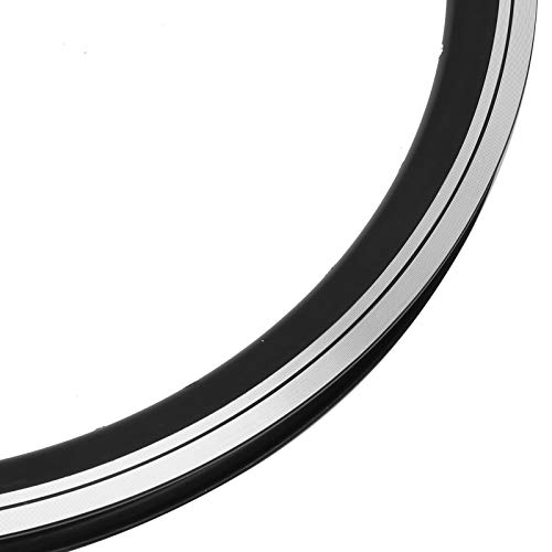 Haowecib Llantas de 28 Agujeros, Accesorios para Llantas de Bicicleta Llantas de Bicicleta de montaña duraderas con aleación de Aluminio neumáticos de 20X1.5 y 20X1.75