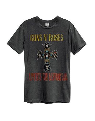 Amplified - Camiseta - para hombre gris gris oscuro medium