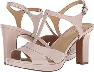 Women's Finn Heeled Sandal, Light Gold, 8 W, Light Gold, Size 8.0
