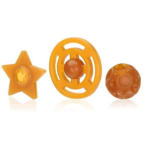 HEVEA Universe trio startpaket. Naturgummi, växtbaserat, plastfritt, miljövänligt och BPA-fritt
