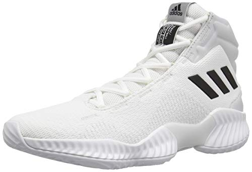Adidas Originals Pro Bounce 2018 – Zapatillas de Baloncesto para Hombre, White/Black/Crystal White, 18 M…