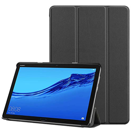 "Ultra Slim Tri-Fold Leather Case for Huawei 10"" MediaPad M5 Lite"