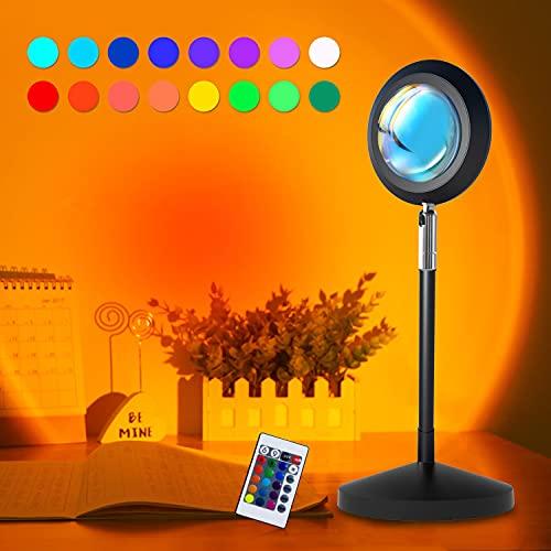 WEKSUN Sunset Projector Lamp, Sunset Light 180°...