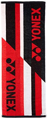 [ヨネックス] テニスウェア スポーツタオル [ユニセックス] AC1051 レッド (001) 日本 40×100cm (FREE サイズ)
