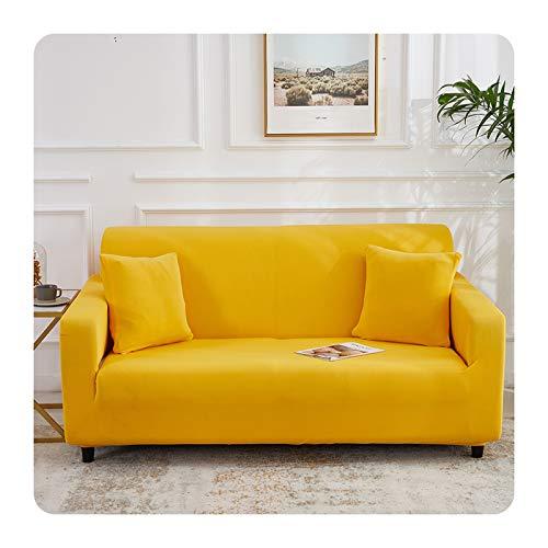 ZaHome Funda elástica para sofá de 1/2/3/4 plazas, color 20-2 plazas, 145-185 cm