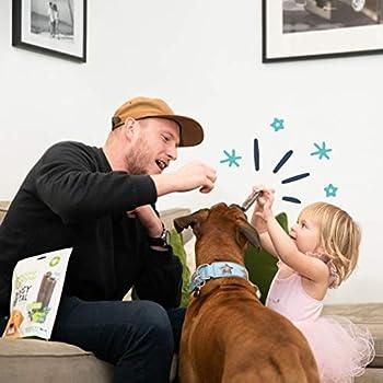 Edgard & Cooper Friandises Dental Stick Grand Chien Naturel 7 Batonnets à Macher Hygiene Dentaire Menthe & Fraise, Un par Jour, Faible en Calories, Mastication Longue, Haleine fraiche