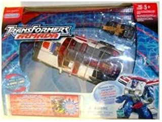 Transformers Armada Red Alert Figure with Longarm Mini-Con (Lights & Sound in Mint Box)