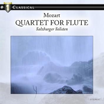 Mozart: Quartet for Flute and Stringtrio