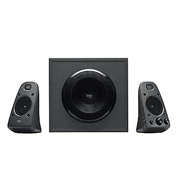 Logitech Z625 Powerful THX Certified 2.1 Speaker System with Optical Input