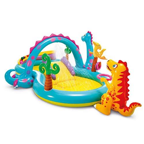 Qinmao Aufblasbarer Pool Spielzentrum Family Paddling Pool Lounge Pool Sommerschwimmen