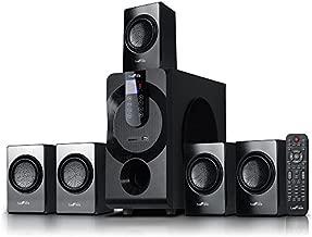 beFree Sound BFS-460 Channel Surround Sound Bluetooth Speaker System in Black