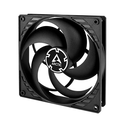 ARCTIC P14 PWM - 140 mm Case Fan with PWM, Pressure-optimised, Very Quiet Motor, Computer, Fan Speed: 200-1700 RPM - Black