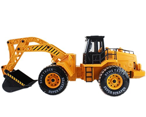 RC Auto kaufen Baufahrzeug Bild 2: GYD Radlader RC Baufahrzeug, Bagger, 3 Kanal, Maßstab 1:18, mit Akku Spielzeug Spiel Trecker Bagger Ferngesteuert NEU*