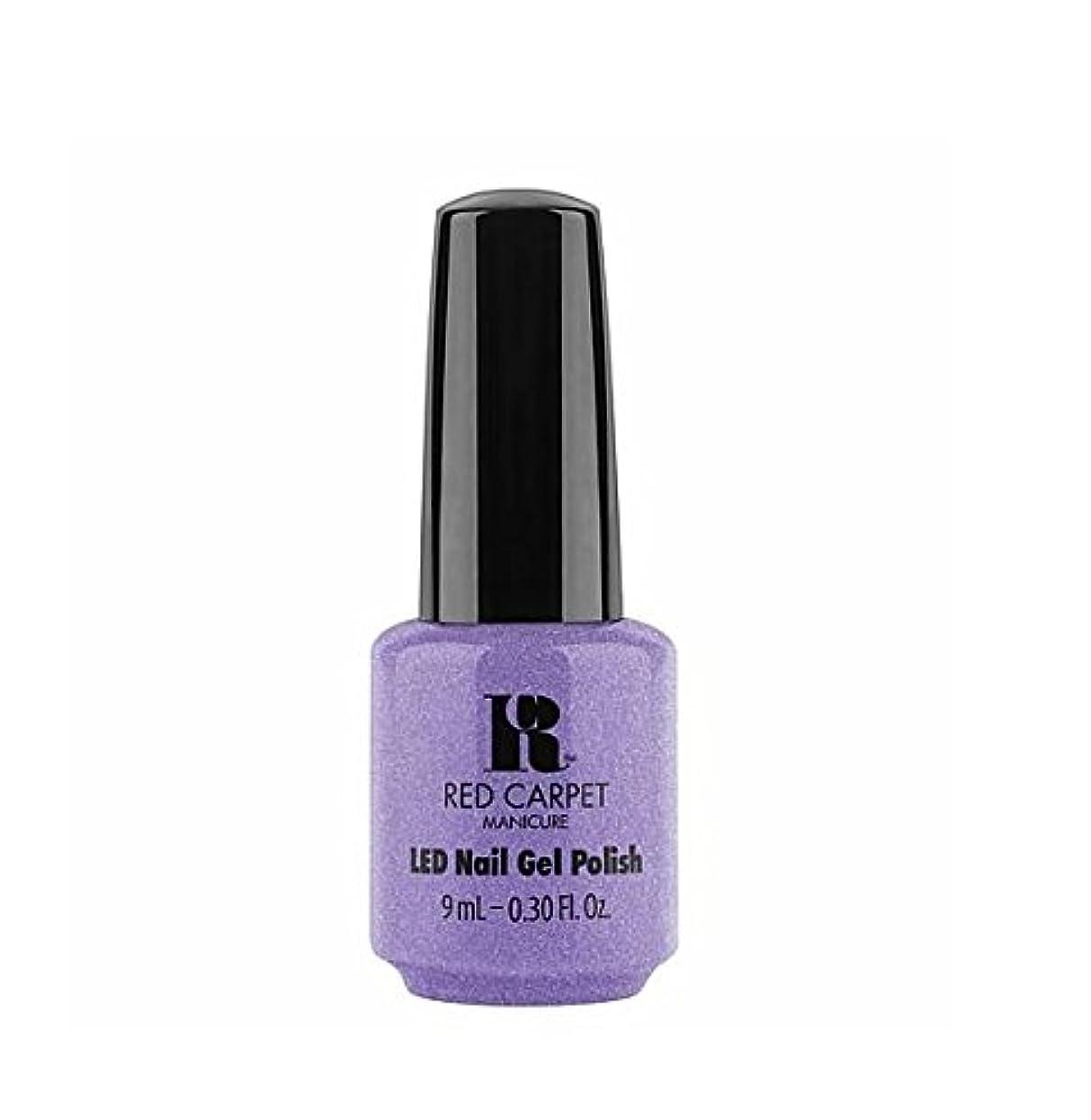 邪魔するクロニクル反対するRed Carpet Manicure LED Gel Polish - Flirting With Fringe - 9 ml / 0.30 oz