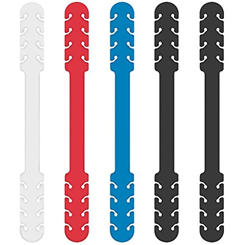 JSPOYOU 5PC Extenders Anti-Tightening Ear Protector Ear Strap Accessories 5PC