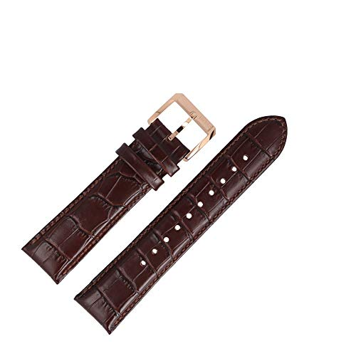Hugo Boss Uhrenarmband 22mm Leder Braun Kroko - 659302501