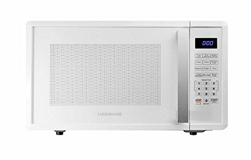 Farberware 1000-Watt Microwave Oven, 1.1 cu. ft, White