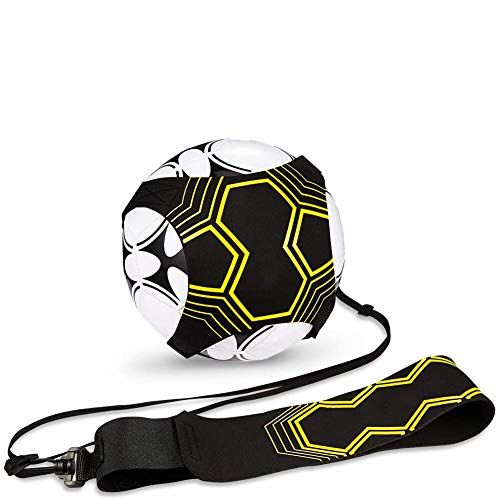 CHEPL Fútbol Cinturón de Entrenamiento Football Trainer Banda para Entrenamiento de Fútbol Soccer Skill Trainer Kit for Niños Adultos