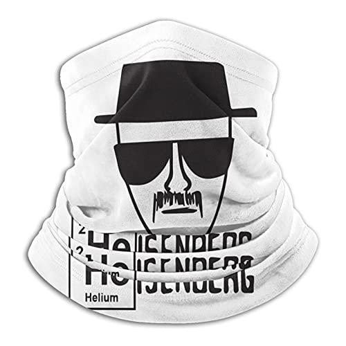 Heisenberg - Pañuelo para cuello para hombre y mujer, para polvo, diademas y pulseras para viajes, deportes al aire libre y uso diario
