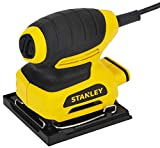 STANLEY STSS025 220W 1/4 Sheet Sander (Yellow and Black)